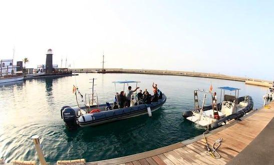 Boat Diving In Playa Blanca