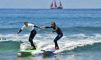 Surf Lesson In Porís de Abona