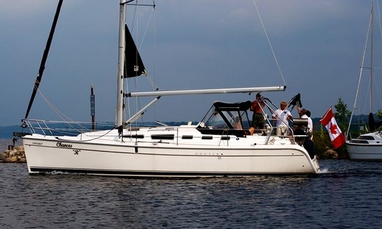 'chances-r' Sailing Monohull Trips In Barrie