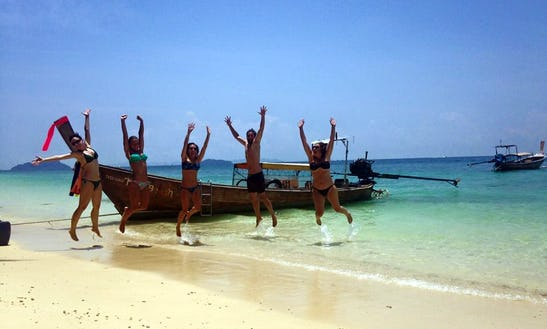 'long Tail' Boat Semi Private & Special Tour In Railay & 4 Islands, Krabi