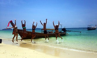 Rent a Boat for a Semi Private & Special Tour in Railay & 4 islands, Krabi