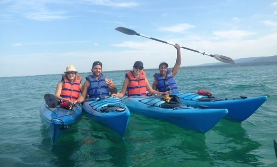 Kayak Lesson On Northwinds Beach