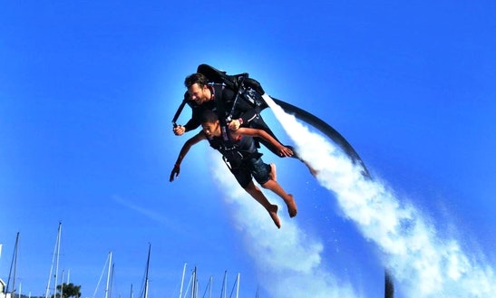 Jetlev Flight Experience In Newport Beach