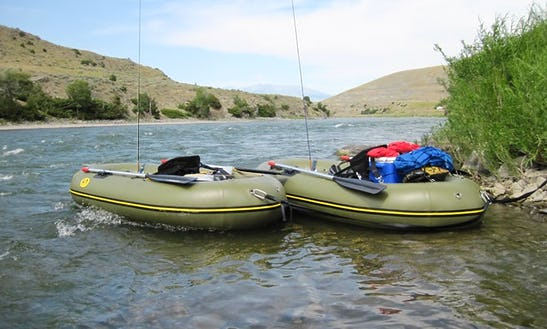 One-man Water Master Raft Rental In Anchorage