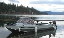 21' Bass Boat Fishing Trips in Plumas, California