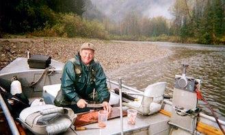 22' Jon Boat Fishing Trips in Terrace, Canada