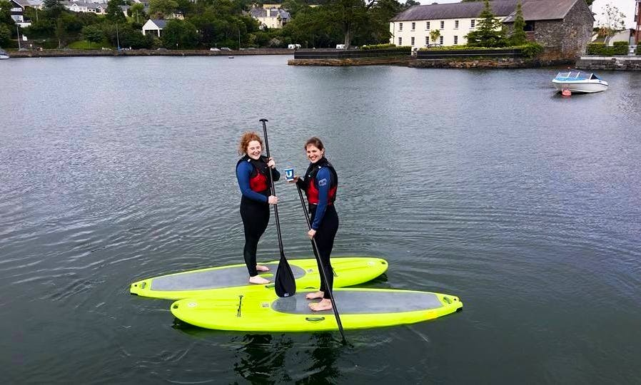 Introduction to Standup Paddle Boarding Lessons in Kinsale, Ireland