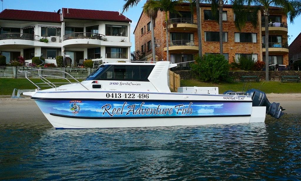 Hire 30 Noosa Cat 3100 Sports Cruiser On The Gold Coast