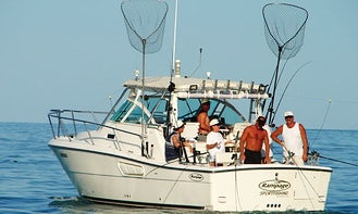 30' Rampage Express Fishing Charter with Terry in Chatham-Kent, Canada
