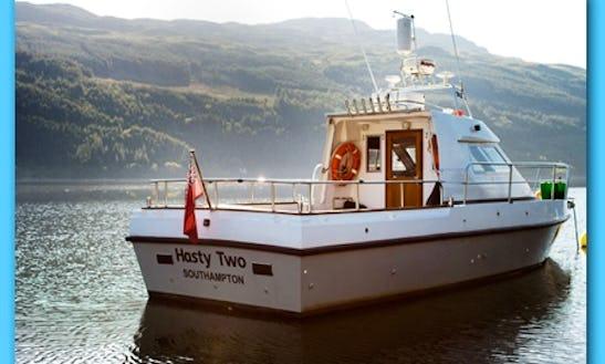 Charter 35' Halmatic Boat In Lochgoilhead