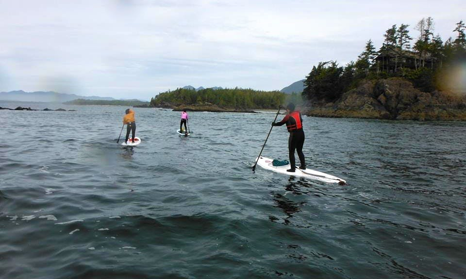 Stand Up Paddleboarding In Crescent Beach