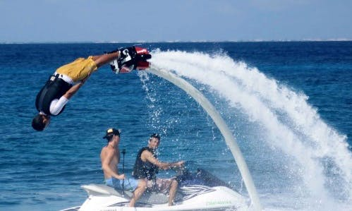 Flyboarding in San Miguel, Mexico