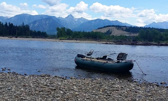 Guided Fly Fishing Trips On St. Mary River