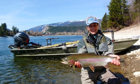 Guided Jet Fishing Trips On Elk River