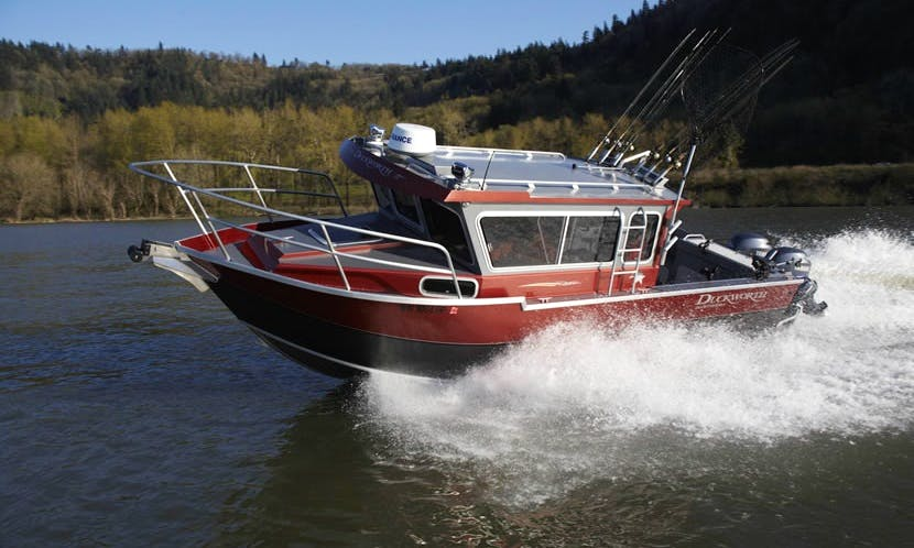 28' Trawler Charter in Pelican, Alaska