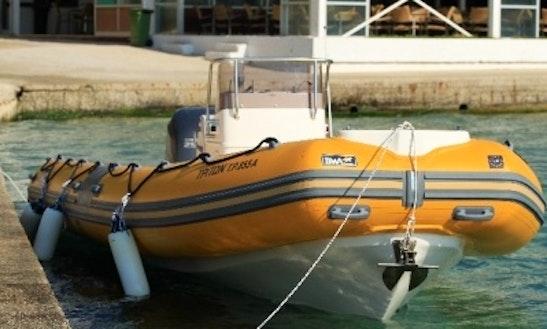 Boat Dive In Kefallonia
