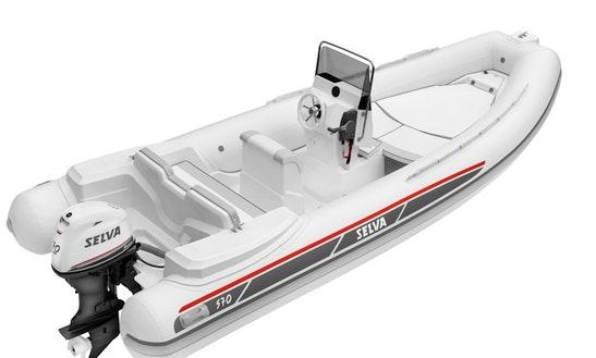 Rent A Selva D570 Semi Rigid Inflatable Boat For 8 Person In San Vito Dei Normanni, Italy