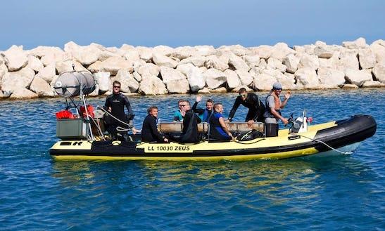Diving In Larnaka, Cyprus