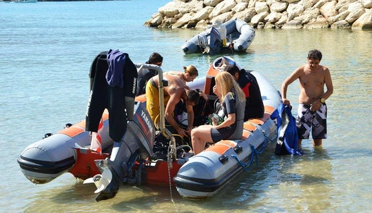 Diving In Karaoglanoglu, Cyprus