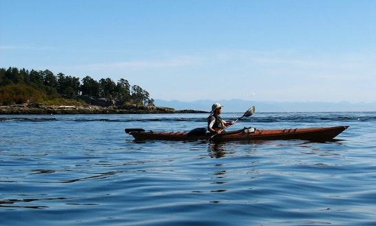 Single Kayak Rental In Tahsis