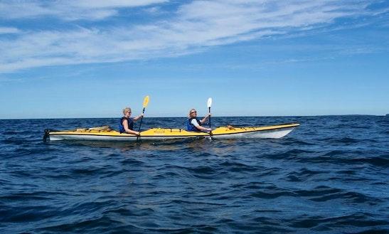 Tandem Kayak Rental In Tahsis