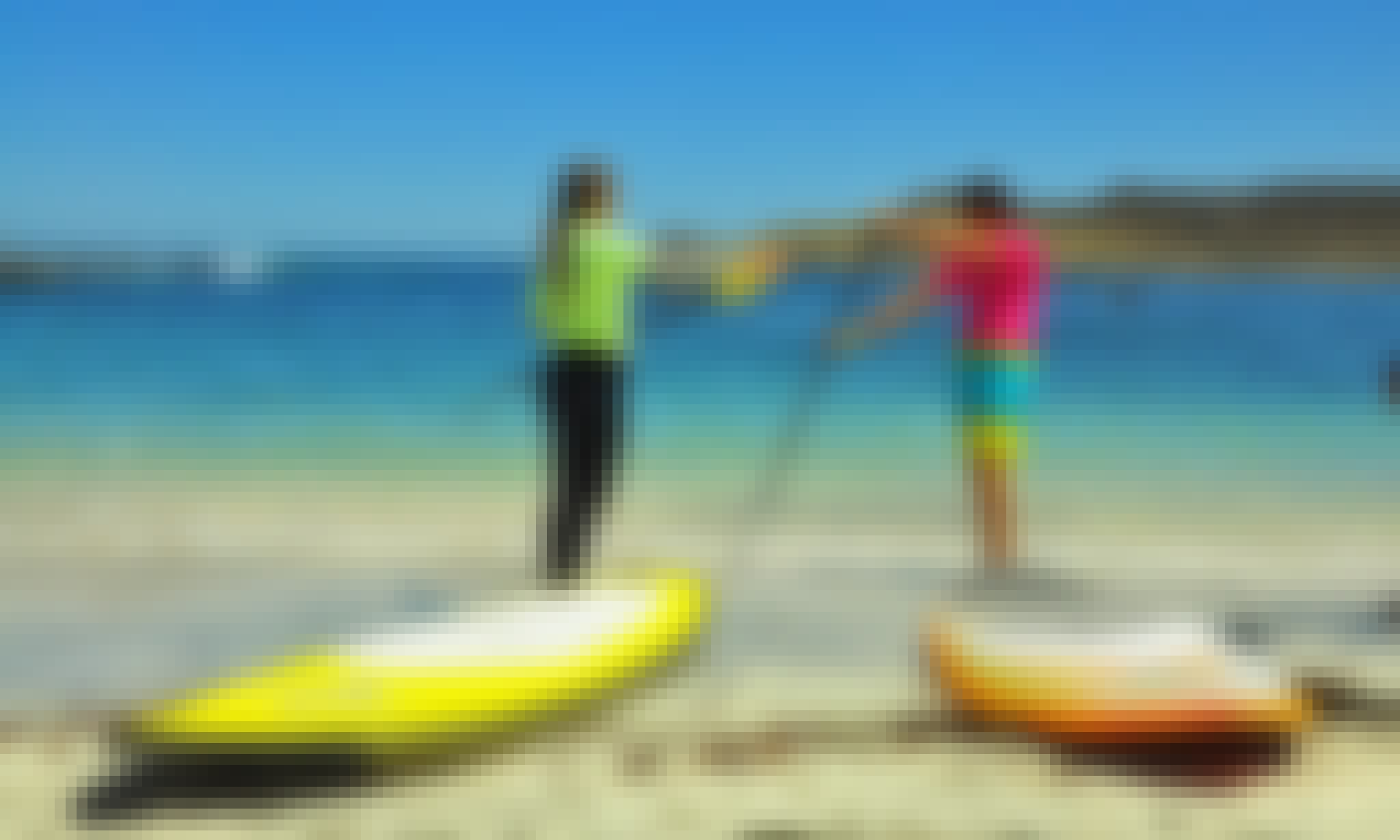 Stand Up Paddleboard Classes in Coquimbo