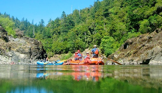 White Water Rafting Adventure Trips In The Rogue River