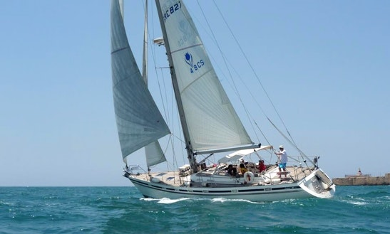 48' Sailing Yacht Charter In Acre