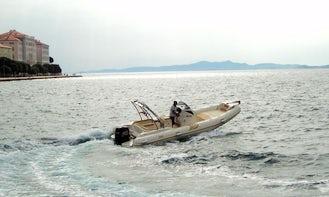 BSC 80 RIB Rental in Zadar