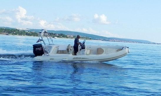 Bsc 65 Rib Rental In Zadar