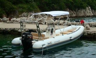 BWA 550 RIB Rental in Zadar