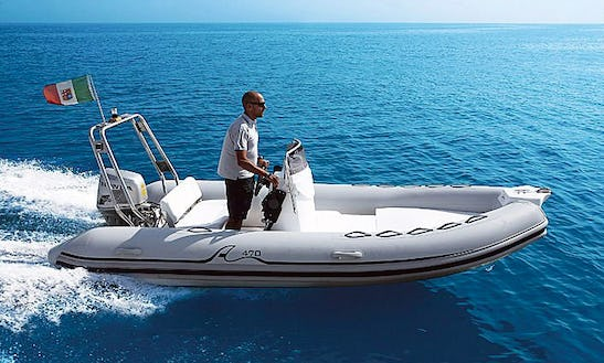 Sea Pioneer 470 Rib Rental In Zadar