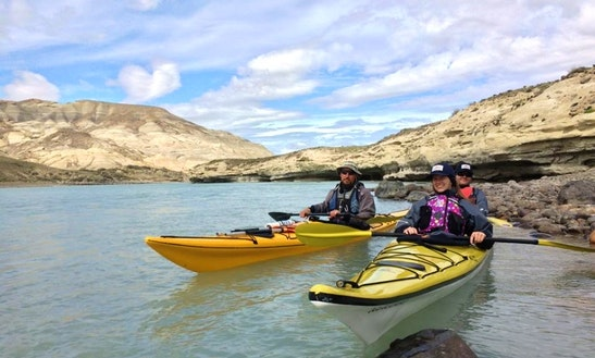 Kayaking In El Calafate