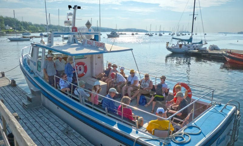 """38ft """"Risky Business"""" Passenger Boat Charter in Mahone Bay, Canada"""