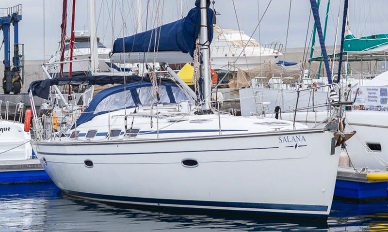 'Salana' Bavaria Cruiser 46 Charter in San Miguel Marina Amarilla Golf, Tenerife