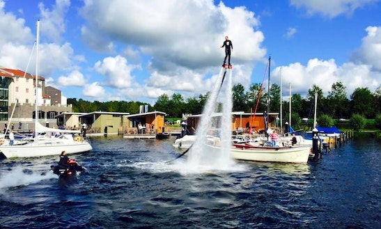 Flyboarding In Zeewolde, Netherlands
