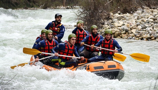 Rafting Guided Trips In Arriondas