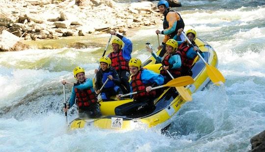 White Water Rafting Trips In The Noguera Pallaresa River
