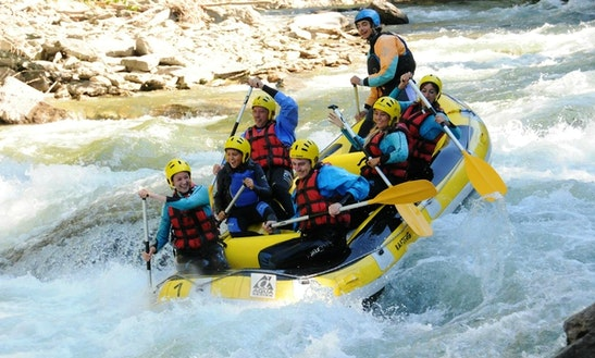 White Water Rafting Trips In The Noguera Pallaresa River