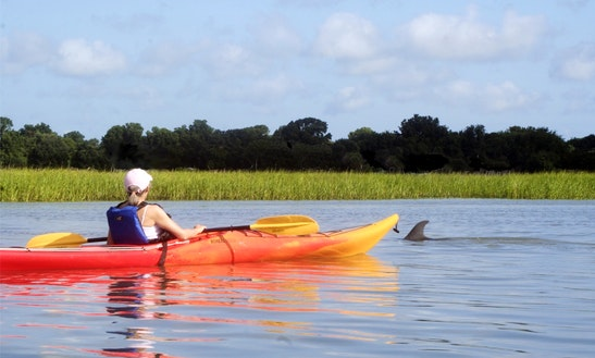 Single Kayak Rental In Folly Beach
