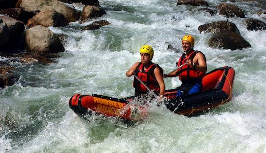 Canoe Rafting Trips In The Noguera Pallaresa River