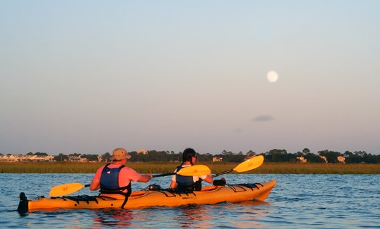 Tandem Kayak Rental In Folly Beach