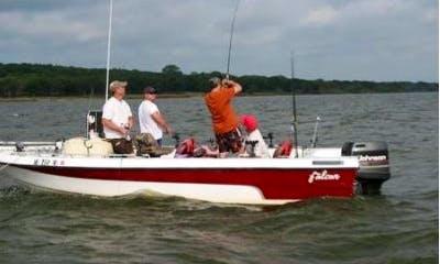 20' Falcon King Striper Boat In Sadler