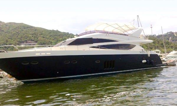 SL012 Cruiser Motor Yacht Charter in Hong Kong