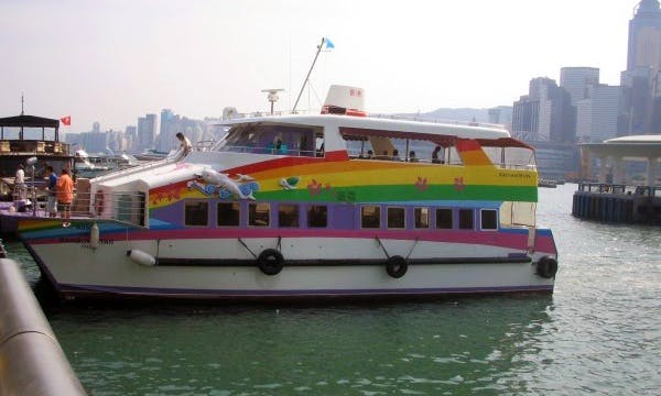 Junk Boat Ferry 150 Boat Charter in Hong Kong