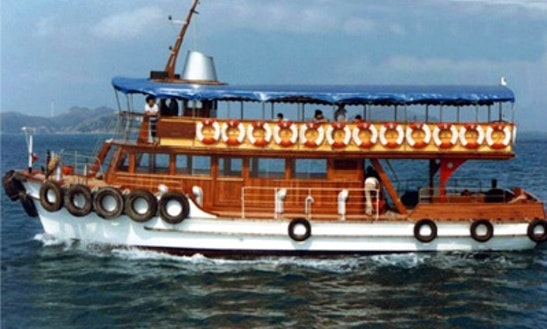 Junk Boat Ferry 120 Boat Charter In Hong Kong