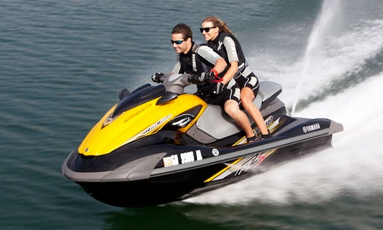 Rent Double Rider Yamaha Waverunner Jet Ski In Folly Beach, South Carolina