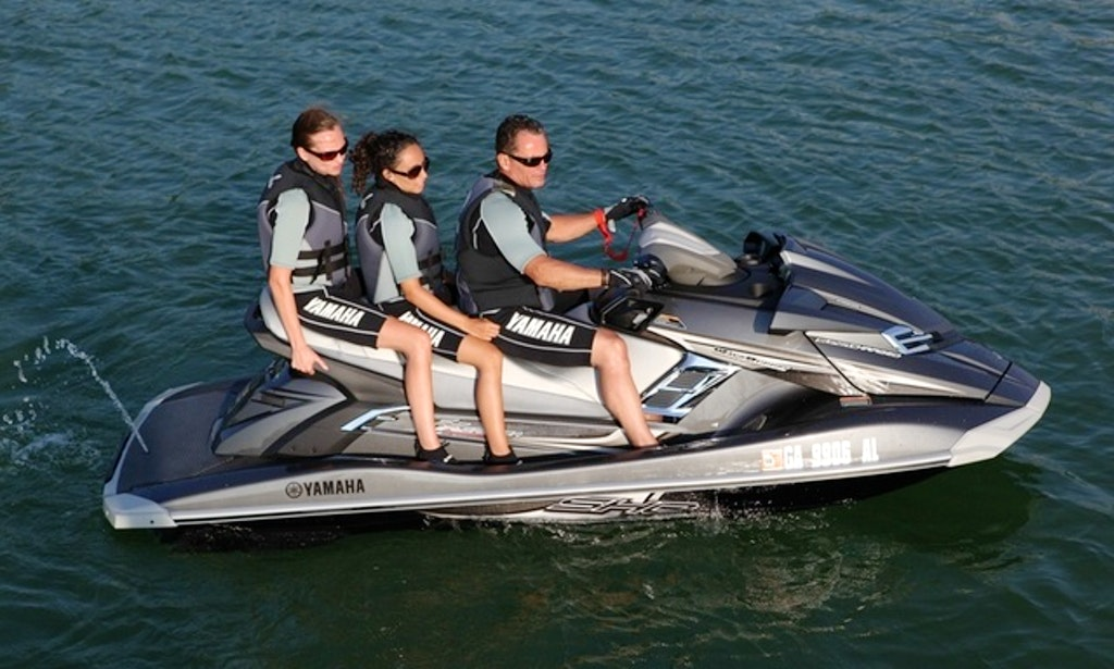 Enjoy folly beach south carolina on yamaha waverunner jet for Yamaha jet ski dealer