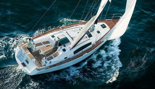 Oceanis 393 Sailing Monohull Charter In Arona
