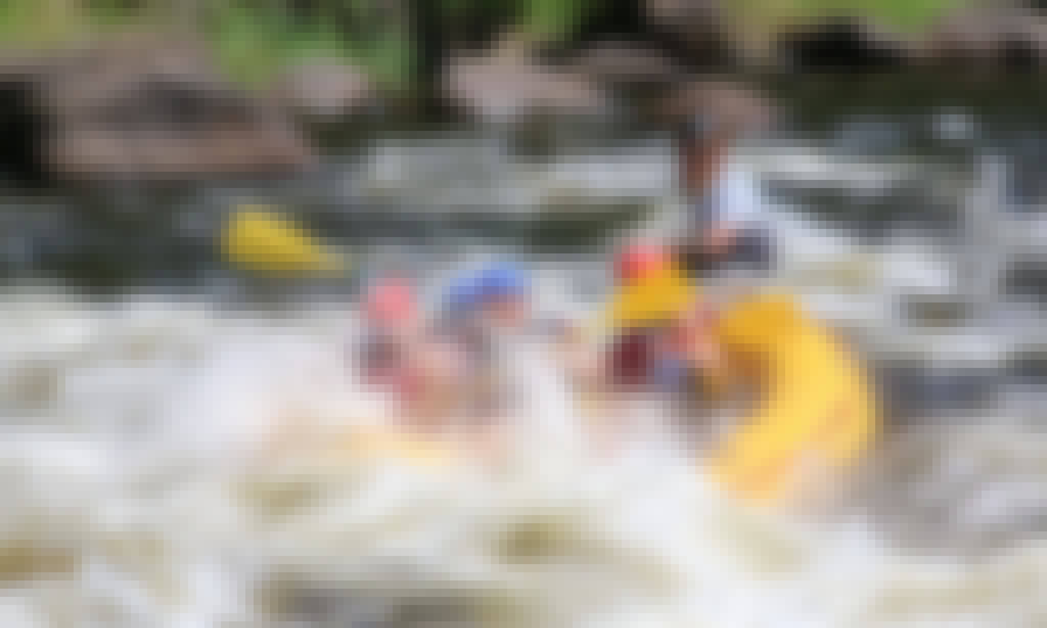 White Water Rafting Trips in the Pigeon River